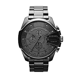 Diesel Men's Chronograph Quartz Watch with Stainless Steel Strap DZ4282