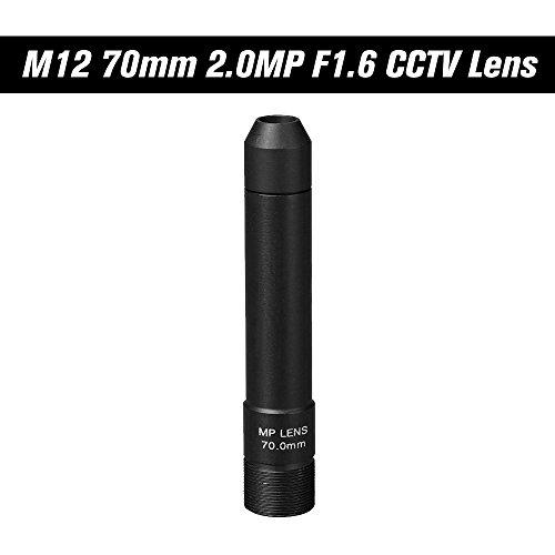 - OWSOO HD 2.0 Megapixel 70mm Pinhole CCTV Lens M12 Mount MTV Board Lens Image Format 1
