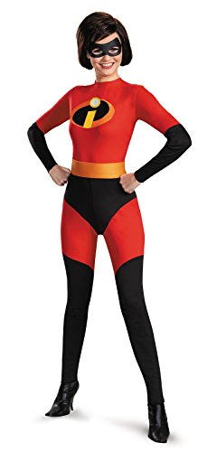 Disney Adult Women's The Incredibles Mrs. Incredible Costume (Small (4-6)) (Mr Incredible Adult Costume)
