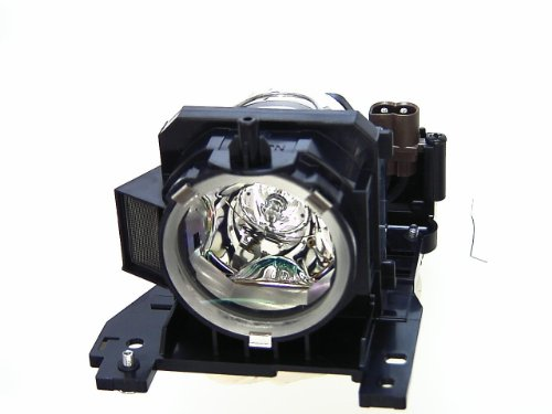 Hitachi DT00911 Replacement 220W Projector Lamp - UHB - 3000 Hour Normal, 4000 Hour Whisper (for Hitachi CP-X201/301/401/467/450/WX410 Projectors) ()