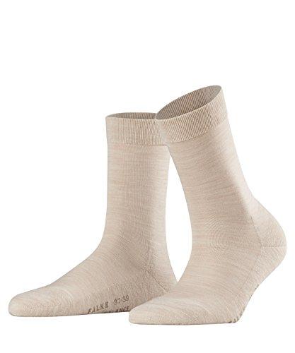 Falke Women's Wool Balance Sock, Sand Melange, 37-38