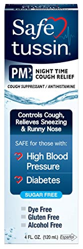 Safetussin PM Cough Relief 4oz
