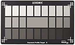 Sekonic Corporation 401-757 Exposure Profile Target II (Black)