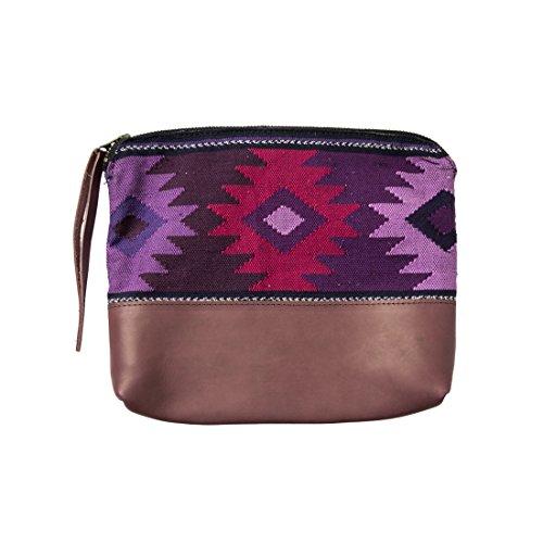 Violet amp; Handmade Guatemalan Drink Comalapa Bag Hide Native Clutch 806d0wq