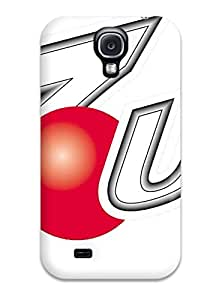 Awesome Defender Tpu Hard Case Cover For Galaxy S4- Up Logo