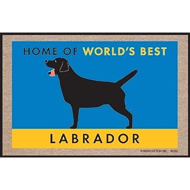 High Cotton World's Best Lab Doormat