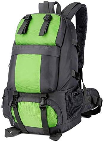BAJIMI 靴キャビネット/グリーンとアウトドアハイキングキャンプ旅行50L屋外防水スポーツバッグのためのバックパック