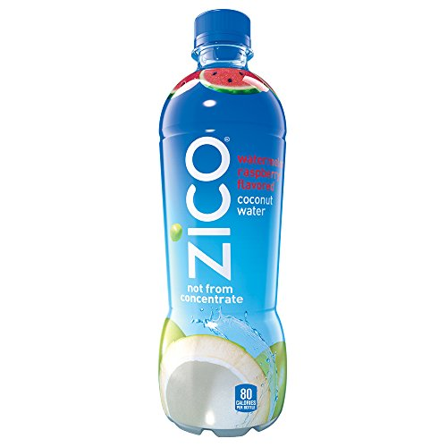 ZICO Watermelon Raspberry Coconut Water Drink, 16.9 fl oz, 12 Pack