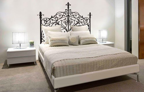 Easy Transfer Iron Bed Queen