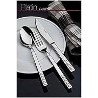Almond Platin Sade 12'li Yemek Bıçağı