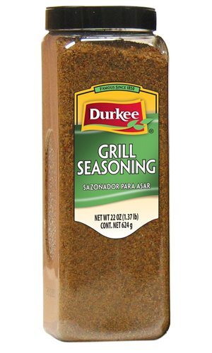 Durkee Grill Seasoning - 22 oz. container, 6 per case by Durkee