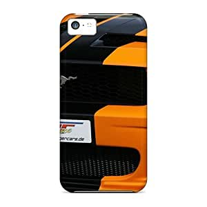 New NikRun Super Strong Geiger Ford Mustang Gt 520 Air Intake PC Case Cover For Iphone 5c