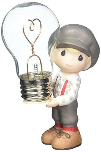 Precious Moments You Light Up My Life Bisque Porcelain Figurine 163003