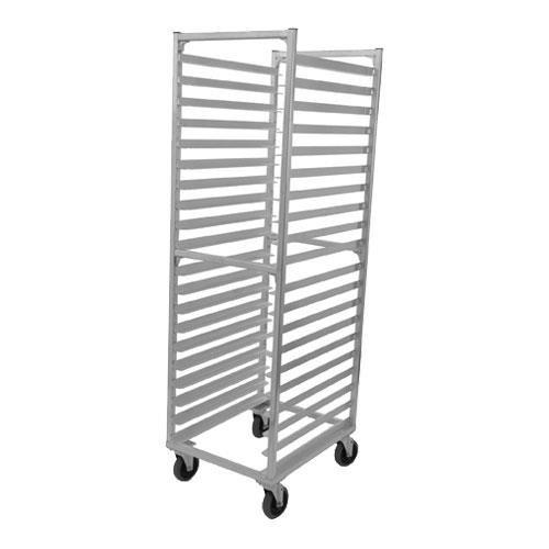 Win-Holt Equipment Group Mobile Pan Rack, Full Height, Open Sides, (20 Aluminum Full Height Mobile Pan