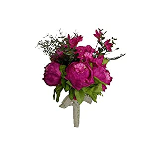 Artificial-Flowers Bridal Bouquet Wedding Artificial Flowers Bouquet for Bridesmaids Pink Bouquets De Mariage,05 7