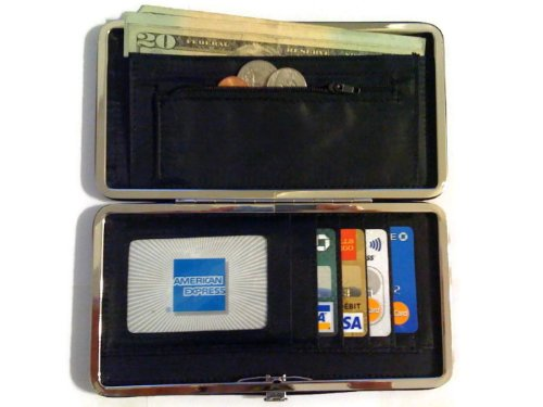 women flat wallet clutch by designsk