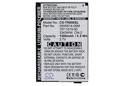 - VINTRONS, Palm 157-10105-00, 3343WW, 35H0014-00M, cm-2 Replacement Battery for Palm Drucker, Monk, Treo 850, Treo 850w, Treo Pro,