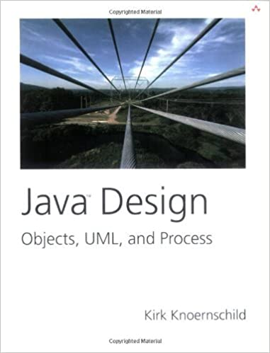 Book Java Design: Objects, UML, and Process by Knoernschild Kirk (2001-12-18)