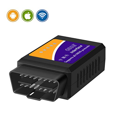 Price comparison product image EDIAG WiFi OBD2 OBDII Auto Diagnostic Scanner Tool Adapter for iPhone / Android / PC obd2 Scanner OBD2 Code Reader