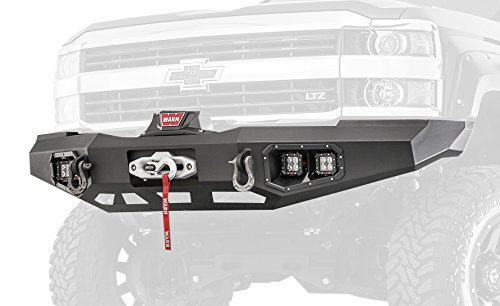 - Warn 95870 Ascent Front Bumper for Chevrolet Silverado 2500/3500 (2015-2016)