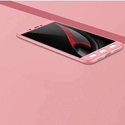 4370c957c3c high-quality Funda para Xiaomi Redmi Note 4 / Note 4X, Vandot 360 Grados  Cuerpo Completo Hybrid Caso Cubierta ...