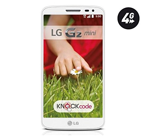 LG G2 Mini D620R 8GB 4G LTE Unlocked GSM Android Quad-Core Smartphone - White - International Version No Warranty