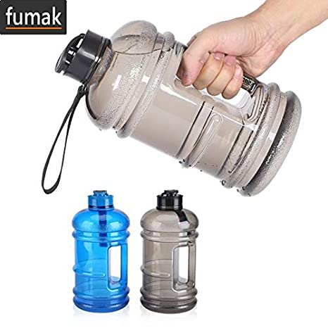 Sports Water Jug 2.2L Big Water Bottle BPA Free 80OZ Leakproof Food-grade NEW