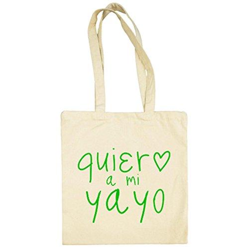 Beige Yayo Bolsa Quiero Mi De A Tela YYXCq8