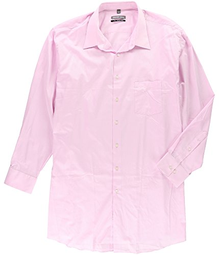 Geoffrey Beene Mens Wrinkle Free Button up Dress Shirt Orchid 20
