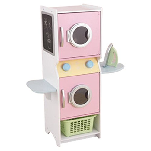 (Laundry Play Set, Kids Play Set - Pastel )