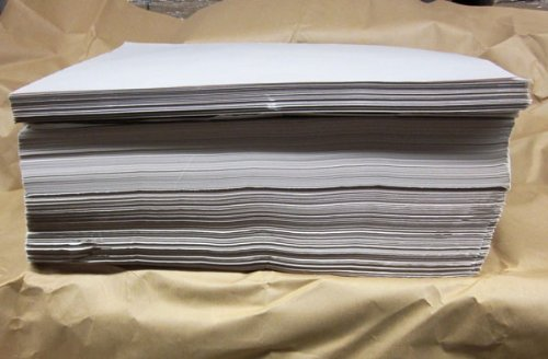 12'' X 14'' Newsprint Sheets, 950 Sheets Per Bundle by Cutting Edge