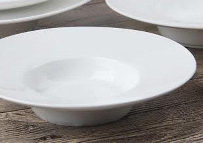 Super White Wide Rim Porcelain Pasta Bowl ( 12 Count) 11'' D X 1.95''H ( RCN-0911) by Sunrise Kitchen Supply (Image #3)