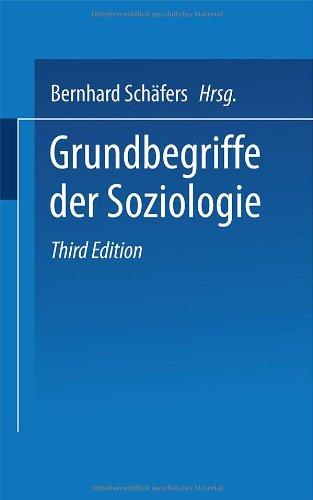 Grundbegriffe der Soziologie.