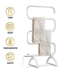 Homeleader Towel Warmer and Drying Rack,...