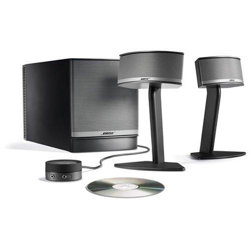 Bose Companion 5 Multimedia Speaker System Graphite Silver