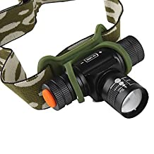 ZWC Others 3 Mode 400 Lumens LED Flashlights/Headlamps 14500/AA Rechargeable/Compact Size/Small Size LED Cree XR-E Q5 Cycling
