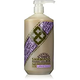 Alaffia - Everyday Shea - Moisturizing Shea Butter Shampoo, 32 Ounces 29 100% FAIR TRADE: Feel good about how you are getting your products with 100% Certified Fair Trade Ingredients. GREAT NATURAL HAIR CARE: This unique, natural conditioner is ideal for those who subscribe to the low-poo, no-poo and co-washing style of hair treatment. Made with Fair Trade Shea Butter to help smooth and moisturize and Shea Leaf Extract to help protect from damaging free radicals. FIGHT FRIZZ + SMELL GREAT: Helps to restore natural pH, leaving hair soft, shiny and manageable with a lovely lavender scent from the inclusion of lavender essential oil.
