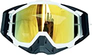 Motorcycle Goggles Motocross Goggles Helmet Anti-Fog Windproof Riding Bike UV Sunglasses Skiing Ski Goggles