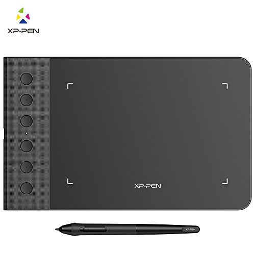 XP-PEN G640S Drawing Tablet Graphic Pen Tablet for OSU! 8192 Levels Pressure Digital Tablet with 6 Shortcut Keys and Battery-Free Stylus (6x3.75 Inch)