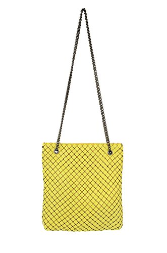 amp; Yellow Mesh Mega Convertible Whiting Crossbody Bag Davis gx0qCndPw