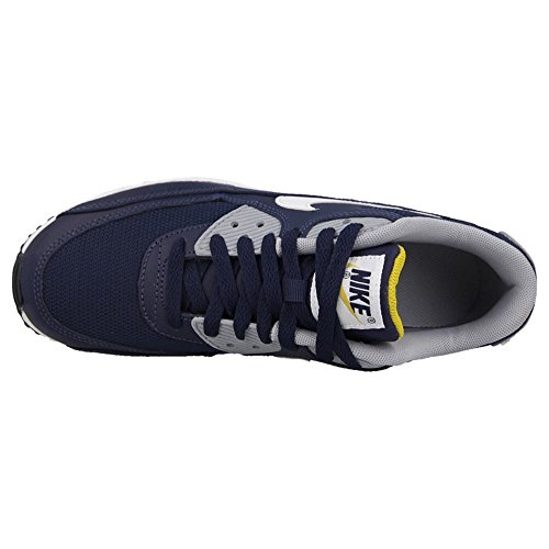 Nike Air Max 90 (store Barn) Gul-navy Blå-hvit