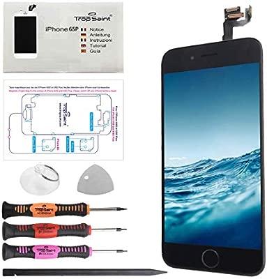Trop Saint® Pantalla Negro para iPhone 6S Plus Completa Premium ...