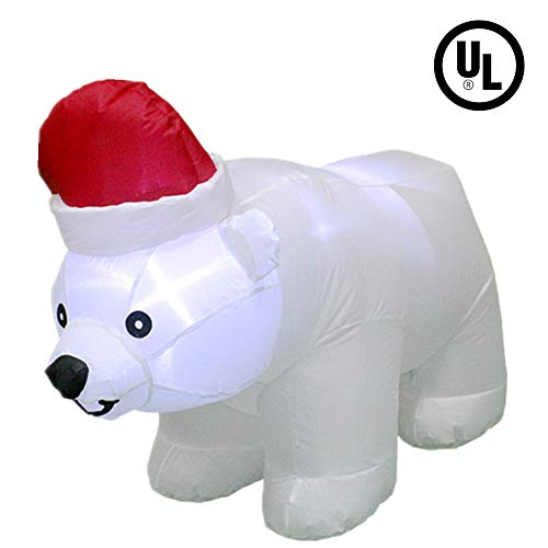 Christmas Outdoor Lighted Polar Bear