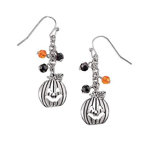 Trick or Treat Pumpkin Earrings -