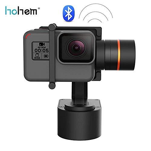Hohem Gimbal XG1 3-Axis Wearable Gimbal Stabilizer, Suitable for Action Cameras GoPro HERO5, HERO4, Yi 4k, AEE, SJCam, Bluetooth Enabled (XG1)