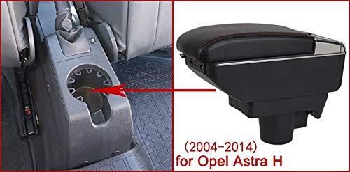 Reposabrazos Universal para Opel Astra H con 7 Puertos USB SENYAZON