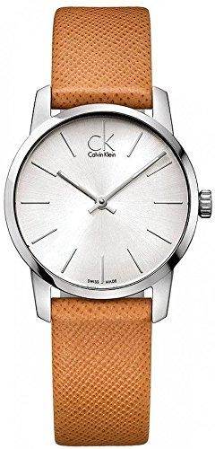 K2G23120 Calvin Klein Ck City Leather Ladies Watch