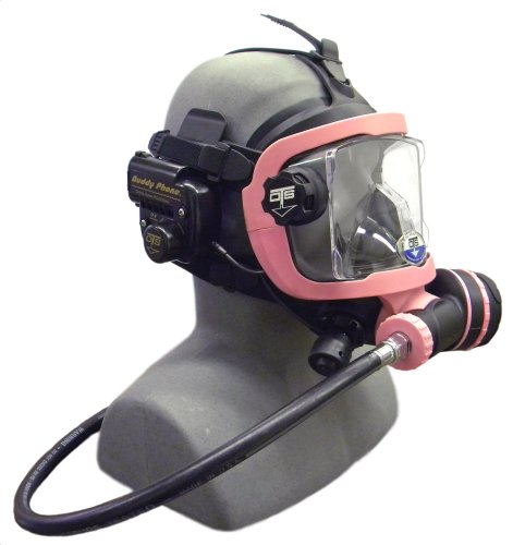 OTS Guardian Full Face Mask with Buddy Phone