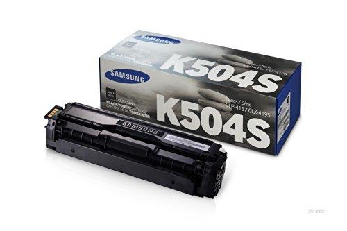 Samsung CLT-K504S Toner Cartridge Black for SL-C1810W, C1860FW, CLX-4195N, 4195FN, 4195FW, CLP-415N, 415NW ()