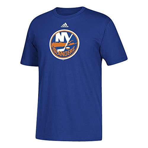 fan products of NHL New York Islanders Adult Unisex Primary Logo Stand Out S/Tee, Large, Blue